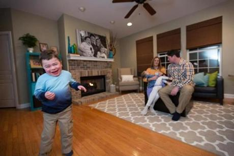 Jack Fowler, 6, has a severe form of Hunter syndrome, a rare metabolic disease that causes physical and mental impairments and affects an estimated 2,000 patients worldwide.